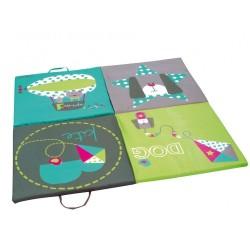 Colchón cuna y alfombra Olmitos 1061