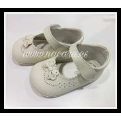 PEUCA 2593 BOX BEIGE LAZO LEON SHOES