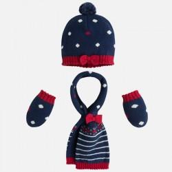 Gorro y bufanda tricot 9339...