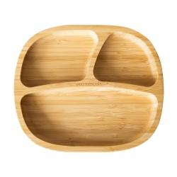 Plato bambú Toodler naranja...