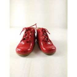 Bota B1933 charol rojo Panyno