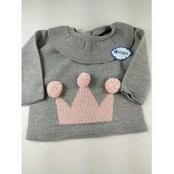 Suéter 649 corona niña Sigar