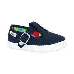 Lona sandalia azul marino...