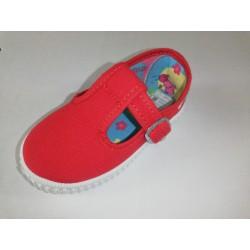 Lona sandalia roja Motesa