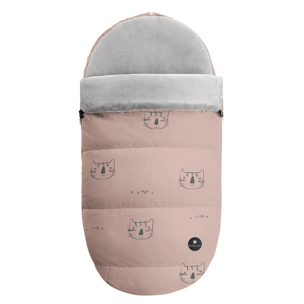 45238904 Saco carro Jersey cats rosa coimasa