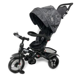31006020117 Triciclo Alonsy Black Camuflage KIKKABOO