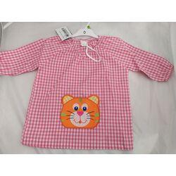 Bata 60 mandilón rosa gato cuello goma garvel