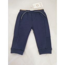 719 Pantalón largo felpa básico recién nacido niño  azul sport Mayoral