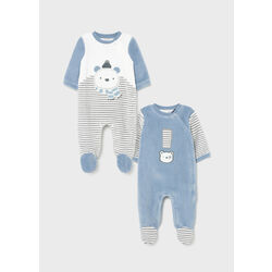 2685 Set 2 Pijamas baby Blue Mayoral