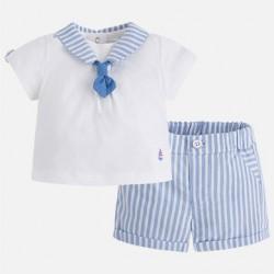 Conj. pantalon corto rayas  1206 Mayoral