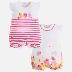 Set 2 pijamas cortos 1762 sorbete Mayoral